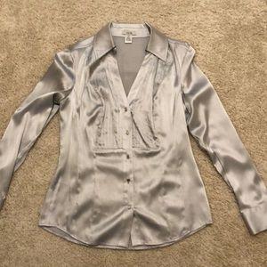 Cache pretty Silk sliver blouse